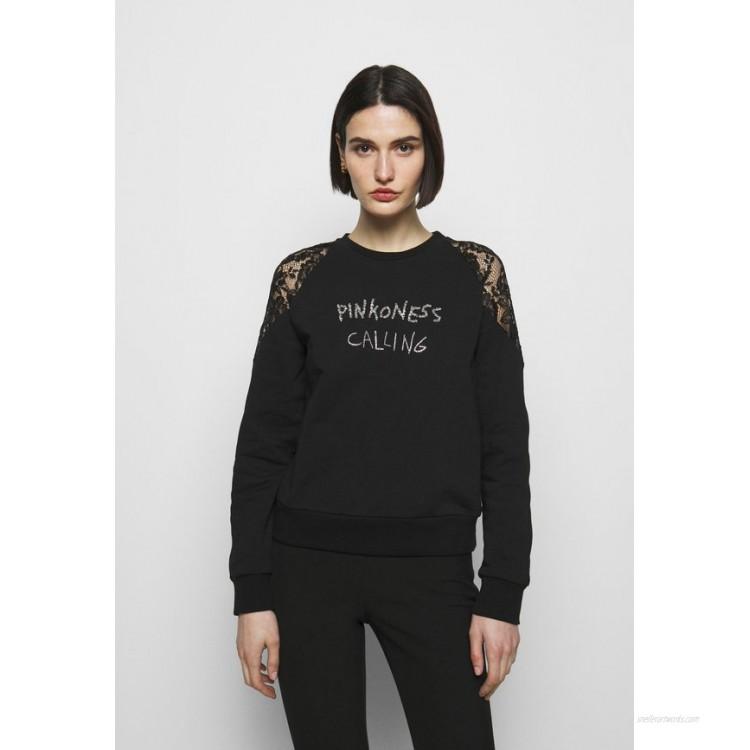 Pinko MILIARDARIO MAGLIA FELPA Sweatshirt black