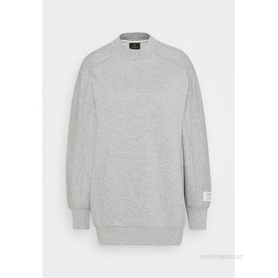 Scotch & Soda LONGER LENGTH SPECIAL SHAPED Sweatshirt grey melange/mottled light grey