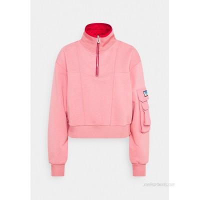 Scotch & Soda POP OVER MILITARY INSPIRED ZIP DETAIL Sweatshirt pink smoothie/pink