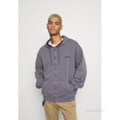 BDG Urban Outfitters ZIP UP HOODIE UNISEX Zipup sweatshirt mauve