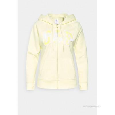 GAP FASH NOVELTY Zipup sweatshirt new honeysuckle/yellow