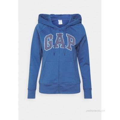 GAP Zipup sweatshirt chrome blue/dark blue