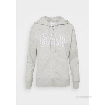 GAP Zipup sweatshirt grey heather/grey