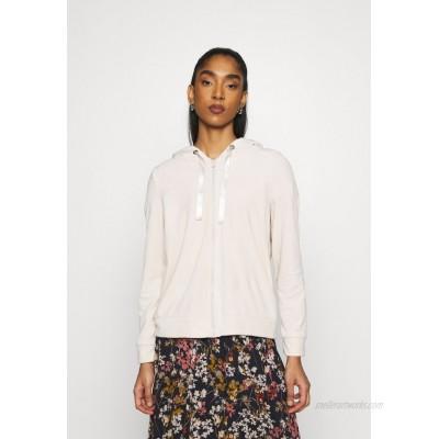 Vero Moda VMATHENA Zipup sweatshirt pumice stone/beige