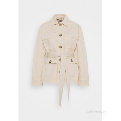 b.young UTILITY JACKET Summer jacket cement/beige