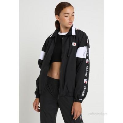 Karl Kani TAPE Summer jacket black/white/black