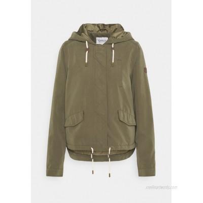 ONLY Tall ONLSKYLAR HOOD JACKET Summer jacket kalamata/khaki