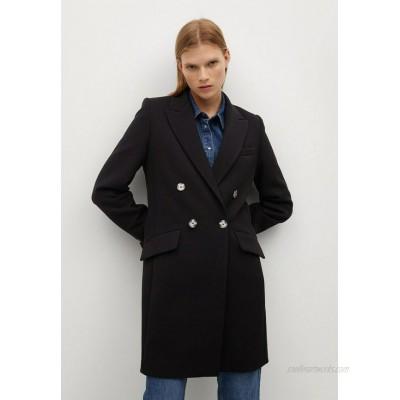 Mango SUGUS Short coat schwarz/black