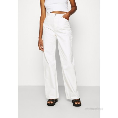 NAKD WIDE LEG Relaxed fit jeans ecru/offwhite