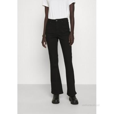 2nd Day FIONA THINKTWICE Flared Jeans denim black/black