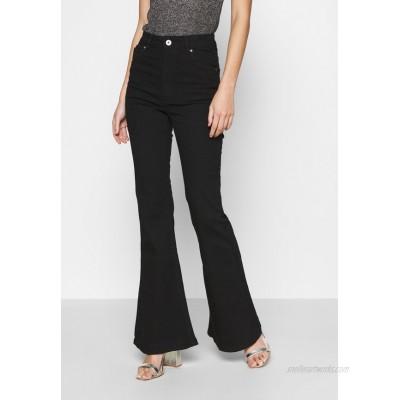 Cotton On VINTAGE FLARE Flared Jeans black/black denim