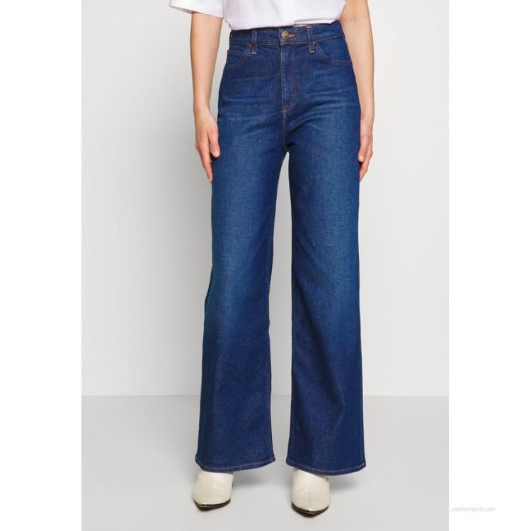Lee STELLA A LINE Flared Jeans dark garner/blue denim