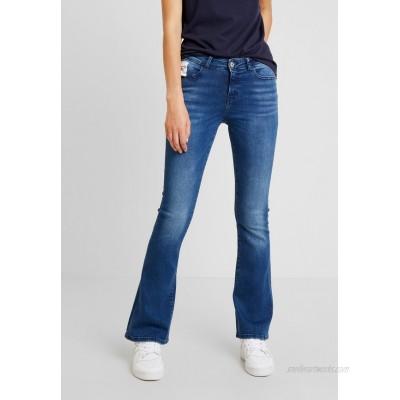 Noisy May Flared Jeans medium blue denim/blue denim