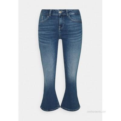 Noisy May Petite NMMARLI Flared Jeans medium blue denim/blue denim