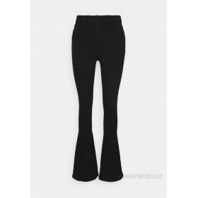 Noisy May Tall NMSALLIE Flared Jeans black/black denim