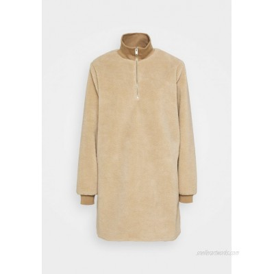 Selected Femme SLFLARNA Day dress taupe