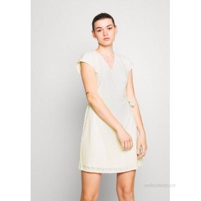 Vero Moda VMLEAH SHORT DRESS Day dress birch/beige