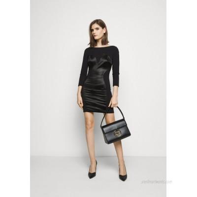 Elisabetta Franchi RING LOGO SHOULDER BAG Handbag nero/black
