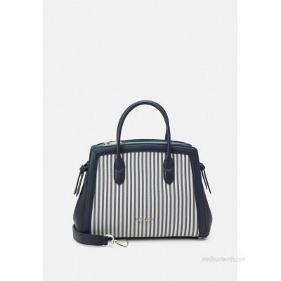 kate spade new york KNOT STRIPE MEDIUM SATCHEL Handbag blazer blue/dark blue