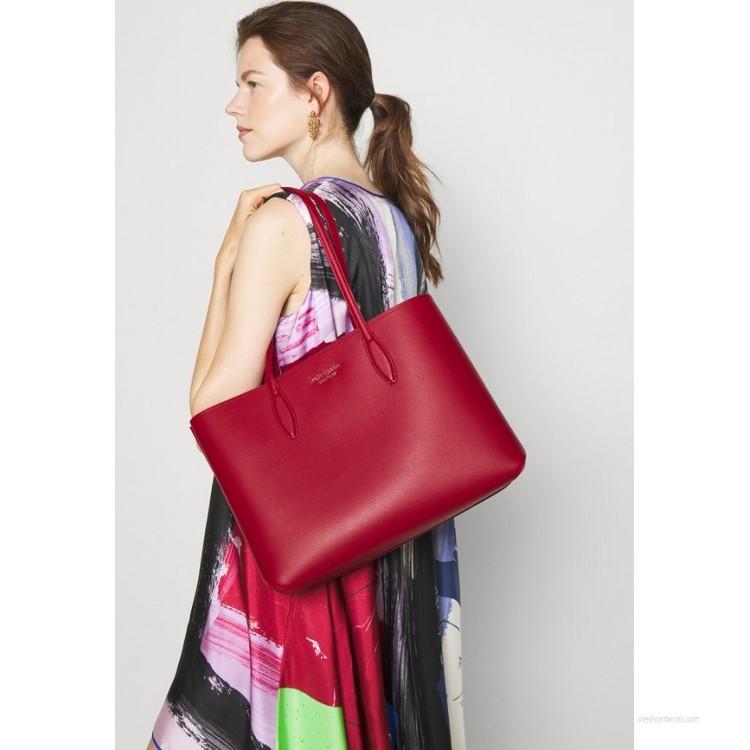 kate spade new york LARGE TOTE Handbag lava falls/dark red