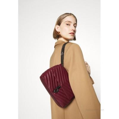 Rebecca Minkoff EDIE XBODY STUDS Handbag cherrywood/bordeaux