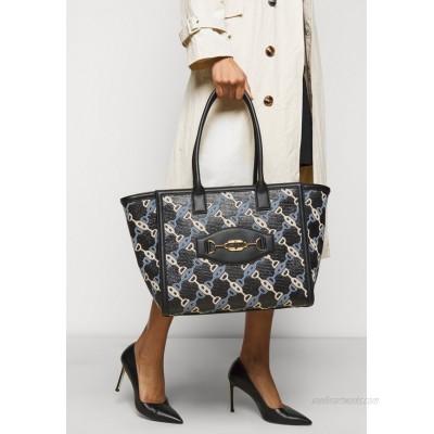 Elisabetta Franchi CLAMP SHOPPER Tote bag nero/black