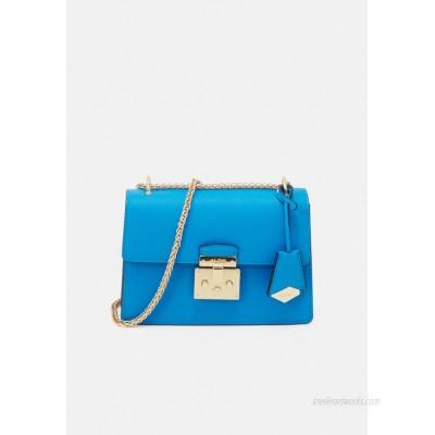 ALDO CRIWIEL Across body bag diva blue/goldcoloured/blue
