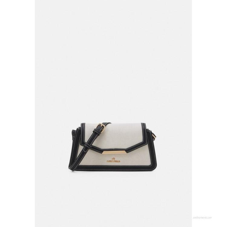 Anna Field Across body bag beige/black/beige