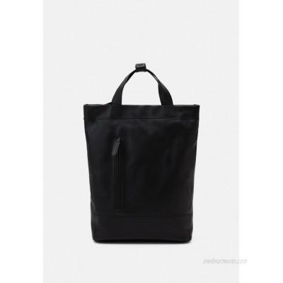 Zign LEATHER UNISEX Rucksack black