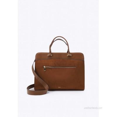 PARFOIS BRIEFCASE CHARM Laptop bag camel/tan