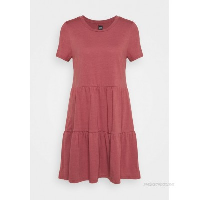 GAP TIERED Jersey dress cosmetic pink/red