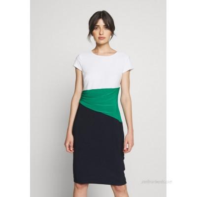 Lauren Ralph Lauren CLASSIC TONE DRESS Shift dress navy/malachite/dark blue