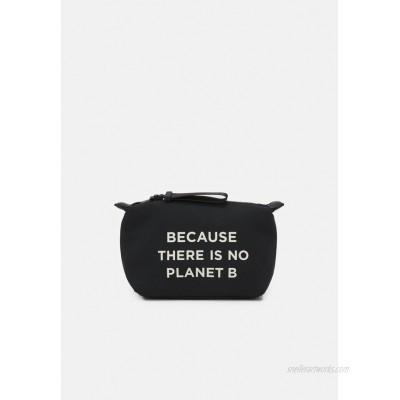 Ecoalf VANITY CASE MESSAGE Wash bag black