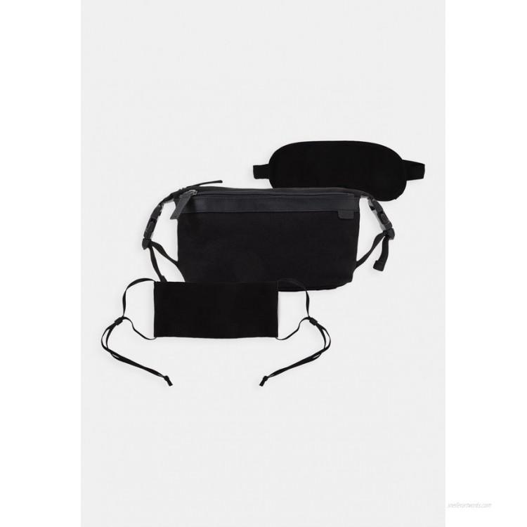 Zign UNISEX STOFFMASKE SCHLAFMASKE Wash bag black