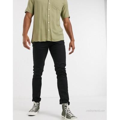 River Island skinny jeans in black