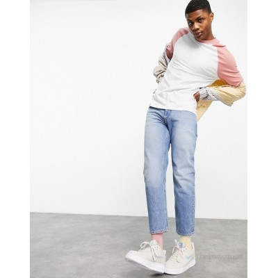 DESIGN classic rigid jeans with sustainable 'less thirsty' wash in blue