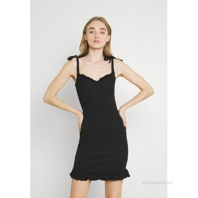 Nly by Nelly STRUCTURE CUTE DRESS Cocktail dress / Party dress black
