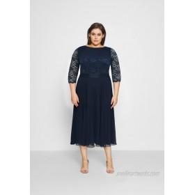 Swing Curve Cocktail dress / Party dress navy/dark blue