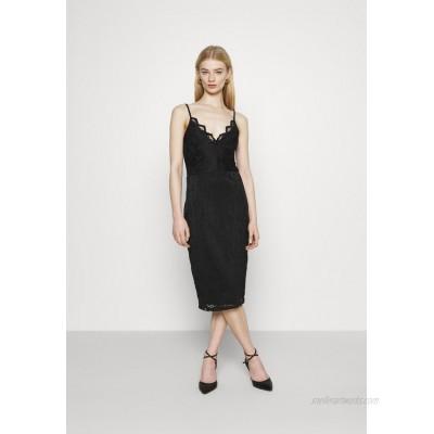 Vila VISTASIA STRAP DRESS Cocktail dress / Party dress black