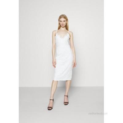 Vila VISTASIA STRAP DRESS Cocktail dress / Party dress cloud dancer/white