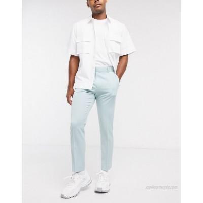 DESIGN smart skinny crop pants in gray