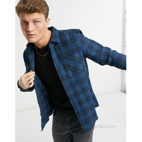 New Look check shirt in blue