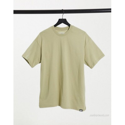 Pull&Bear oversize t-shirt in taupe
