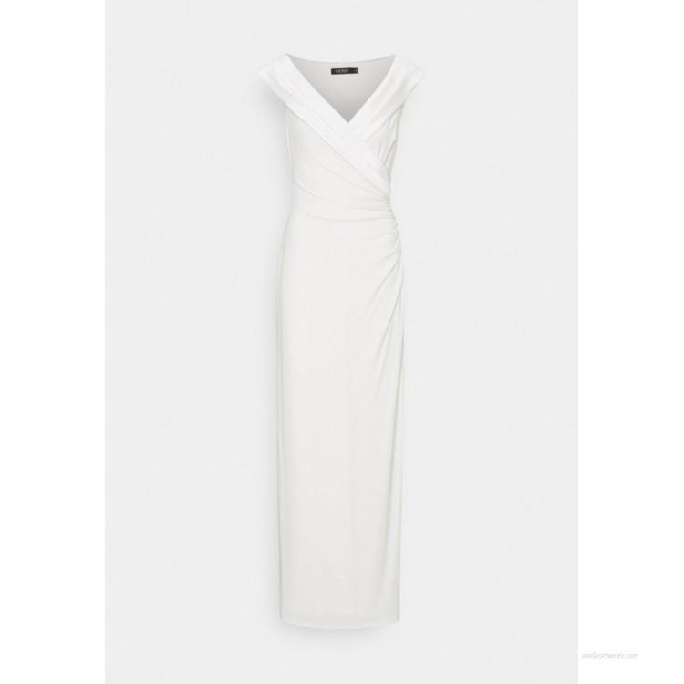 Lauren Ralph Lauren CLASSIC LONG GOWN Occasion wear cream/offwhite