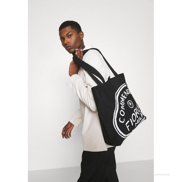 Fiorucci ILLUSTRATED COMMENDED TOTE BAG UNISEX - Tote bag - black