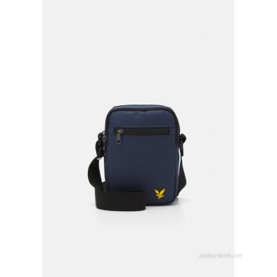 Lyle & Scott REPORTER BAG - Across body bag - navy/dark blue
