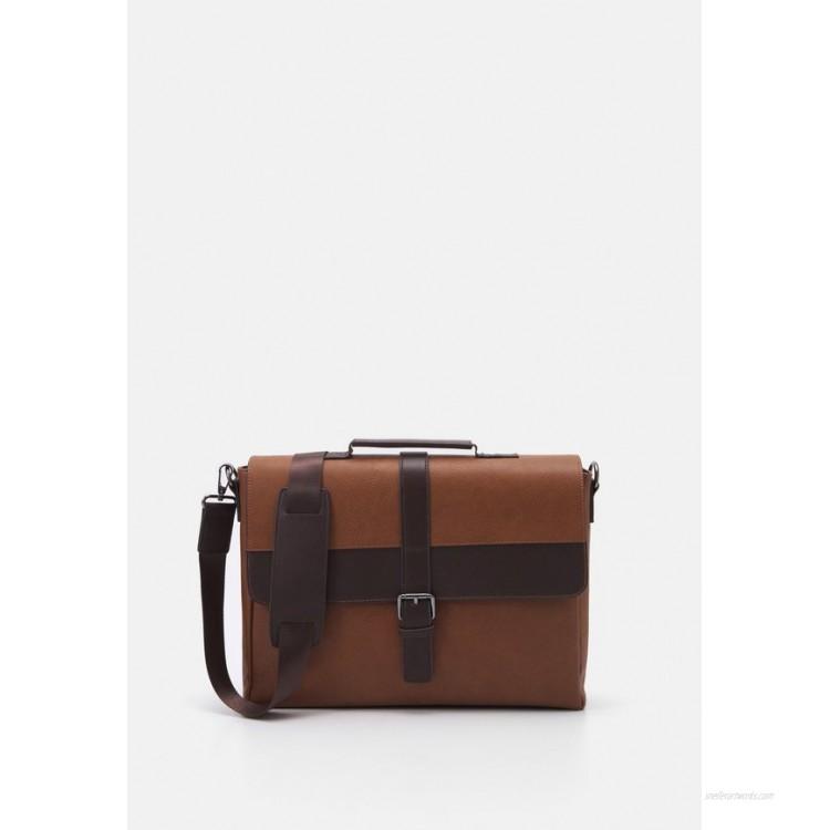 ALDO CEDRO - Briefcase - other brown/brown