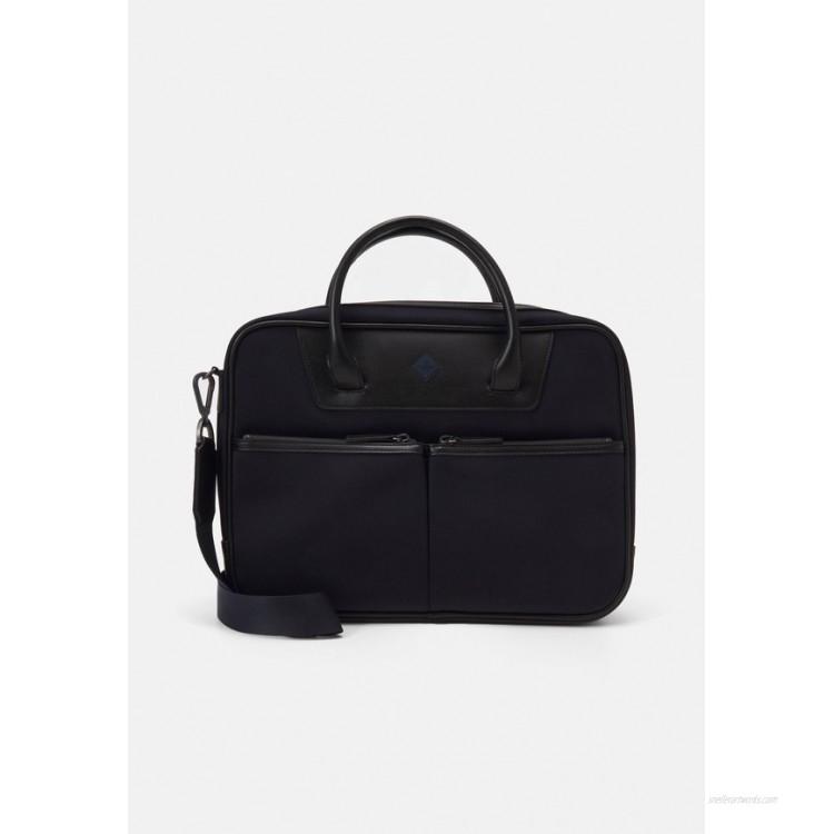 Hackett London GATES SINGLE DOC - Across body bag - navy/black/dark blue