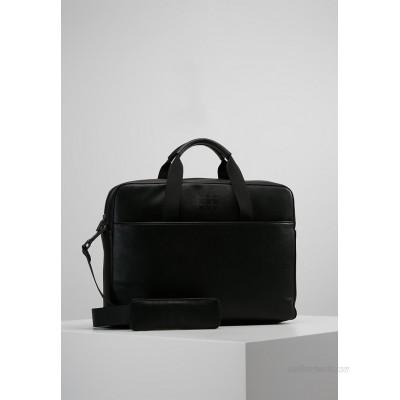 Moleskine CLASSIC SLIM BRIEFCASE - Briefcase - black