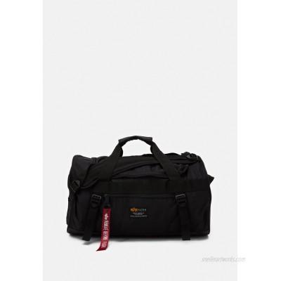 Alpha Industries CREW DUFFLE BAG UNISEX - Weekend bag - black